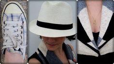 vitrine @ugust@ looks | por leila diniz: look casual total com direito a chapéu panamá e colete de lã.