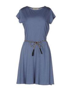 SESSUN Women's Short dress Slate blue L INT