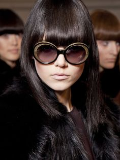 #sixties retro fringe/bangs #mod #hairstyle