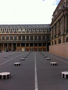 at Palais Royale