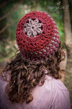 Crochet Pattern: Messy Bun Hat Pattern by KristinInStitches
