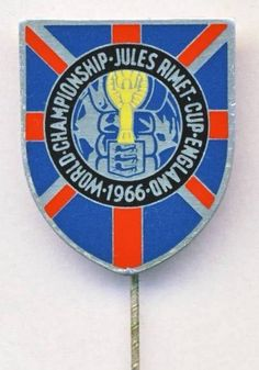 1966 FIFA WORLD CUP in England PIN badge Football SOCCER large XXL  | eBay