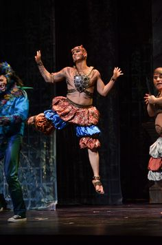 Young Artist Matthew Maness as Monostatos shows us his dance moves. The Magic Flute.
