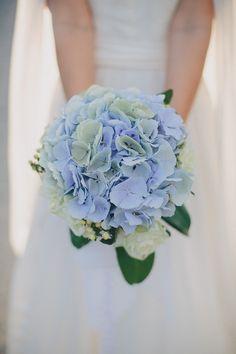 #Hydrangea Bouquet | Thomas Steibl Photography | Wedding on SMP - http://www.StyleMePretty.com/destination-weddings/2014/01/07/austrian-wedding-at-castle-niederweiden/