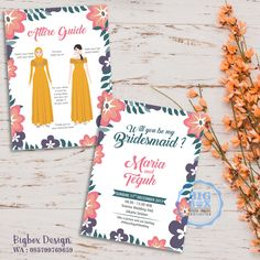 Organizing a wedding is actually certainly not regularly very easy. After the new bride chooses the suitable motif on her part wedding ceremonies, she's Bridesmaid Favors, Bridesmaid Cards, Be My Bridesmaid, Bridesmaid Dresses, Bridesmaids, Wedding Types, Wedding Vows, Wedding Cards, Wedding Day