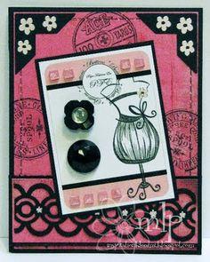 dress form button card