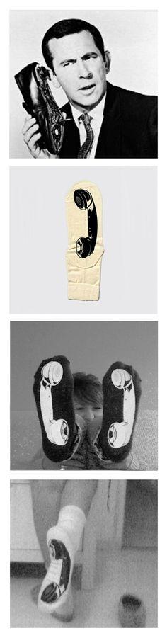 Play with socks by Marc Sardà , via Behance