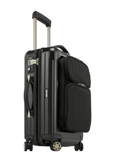 The Salsa Deluxe Hybrid is the next generation in exclusive luggage. The Hybrid is constructed with an innovative combination of strong polycarbonate and robust, durable keprotec that's reinforced with Kevlar.   Rimowa Salsa Deluxe Hybrid  IATA Cabin Multiwheel $695.00  Luggagepro.com
