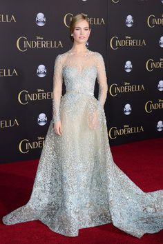 Lily James Cinderella Princess Style (Vogue.co.uk)