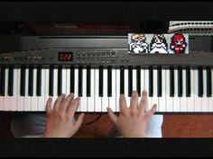 """""""ファイナルファンタジーⅡ - 反乱軍のテーマ"""" from Final Fantasy II for the Nintendo Famicom, played on piano by kamakirifujin"""