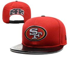 NFL San Francisco 49ers Snapback Hats--YD 49ers Outfit caf0b37bca58