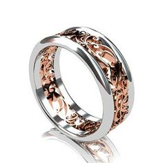 Best Men's Wedding Ring Two Tone Products on Wanelo