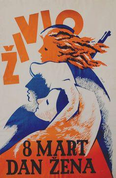 womens day, Yugoslavia
