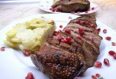 Rosé kacsamell gratin burgonyával Food, Gratin, Meal, Essen, Hoods, Meals, Eten