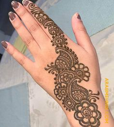 50 Most beautiful Manali Mehndi Design (Manali Henna Design) that you can apply on your Beautiful Hands and Body in daily life. Circle Mehndi Designs, Mehndi Designs Front Hand, Mehndi Designs For Kids, Mehndi Designs Feet, Latest Bridal Mehndi Designs, Full Hand Mehndi Designs, Mehndi Designs Book, Mehndi Designs 2018, Mehndi Designs For Beginners