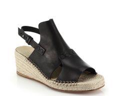 Rag Bone Sold Out Sayre II Espadrille Wedge Black Leather Sz 6 5 36 5 $395 | eBay   #ragandbone #rag&bone #sayreeapadrille #wedge #leather #shoes #fashion