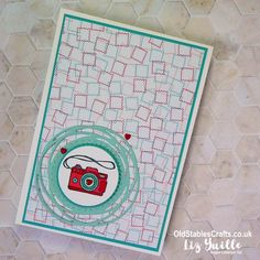 Camera Cards, Youtube Live, Paper Plane, Card Tutorials, Replay, Stampin Up, Card Stock, Card Making, Stables