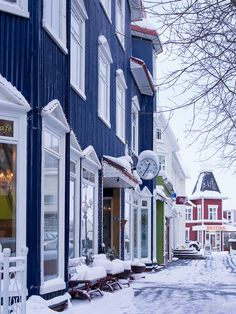 Downtown, Akureyri, Iceland