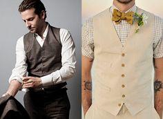 camisa xadrez e gravata borboleta