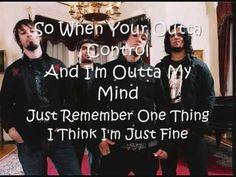 Papa Roach Time Is Running Out Lyrics