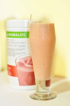 Yummy Breakfast Shake 2 scoops Herbalife shake powder 1 cup frozen strawberries 1/4 cup instant oats 2 ice cubes 1 tsp vanilla 1tbsp ground flax seed 1 1/2 cups water or milk (soy,almond etc.) blend together and enjoy! great for weight loss and energy! https://mygreatshapetoday.com/maryatk Click to purchase Herbalife products online!