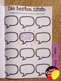 Lesemotivation Zitate Bullet Journal, Awesome Quotes, Writing, Speech Balloon, Primary School, Kids, Deutsch