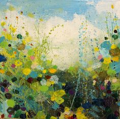 Blue and Green Summer by Sandy Dooley