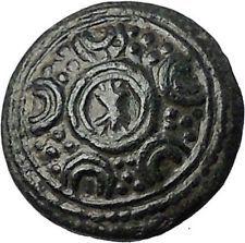 ALEXANDER III the GREAT 325BC Shield of Macedonia Helmet Greek Coin i55489
