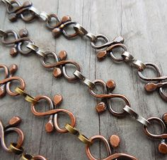 I love interesting chain, and I especially love it if it's handmade. I really love copper and am frequently disappointed that practically al...