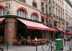 Here is the cafe I always went to when I lived in Paris for a summer