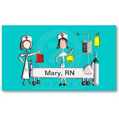 Lpn nurses business card holders nurses lpn nursing pinterest nurse business cards hospital scene colourmoves Choice Image