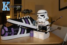 Darth Revan Custom shoes with a friend