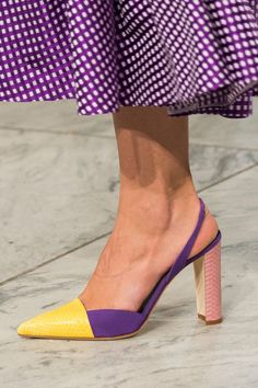 Carolina Herrera at New York Fashion Week Spring 2018 - The Most Coveted Shoes on the New York Runway - Photos