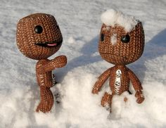 snow sackboy