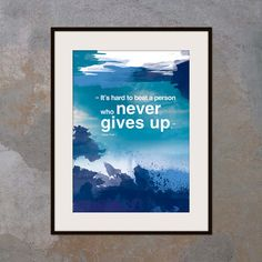 Inspirational poster with positive thinking by inspiring4U on Etsy, $26.00