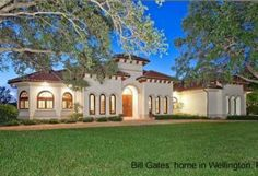 Pictures of Bill Gates House in Wellington, Florida. View Bill Gates House in Wellington, Florida and Bill Gates Home Address Celebrity Mansions, Celebrity Houses, Florida Home, South Florida, Bill Gates's House, Wellington Florida, Rich Home, Horse Stables, Palm Beach County