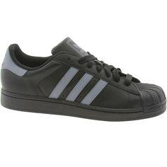 Adidas Superstar Grey Black