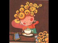 ▶ RINXOLS 0001 - YouTube Norman Rockwell, I Love Coffee, Close Your Eyes, Mug Shots, Cute Illustration, Smurfs, Whimsical, Snoopy, Fantasy