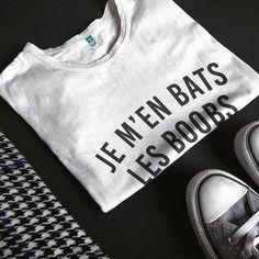 #JaimeLaGrenadine #citation #punchline #tshirt #teeshirt #flatlay #jemenbatslesboobs #jemenfous #idontcare