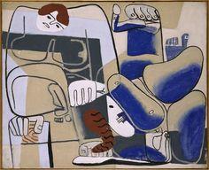 Le Corbusier, Chute de Barcelone II (The Fall of Barcelona II), 1939, Museo Reina Sofía