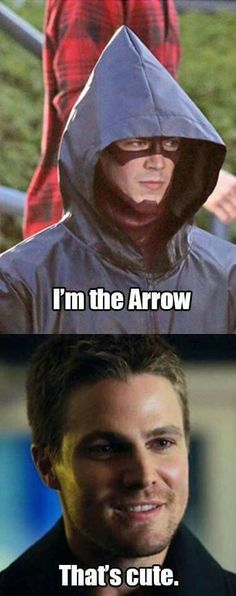 Wonderful #MemeMonday - Stephen from the Flash and Arrow
