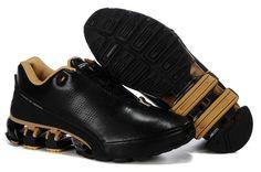 buy popular 7e8e1 c5456  item Adidas Porsche Design Bounce S4 Sport Running Shoes Black Gold  link