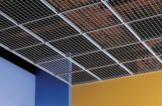 WireWorks Open-Cell Ceiling Panels, on Designer Pages