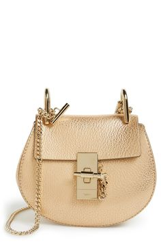 0f03bf55c04a Currently obsessing over this classic Chloe handbag in gold.