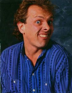 Rik Mayall Such a hilarious guy he was. I miss him. Comedy Actors, Comedy Duos, British Sitcoms, British Comedy, Ade Edmondson, Welsh, English Drama, Rik Mayall, Young Ones