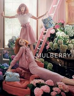 Gorgeous photography by the talented Tim Walker for Mulberry. #photography #fashion #mulberry #timwalker