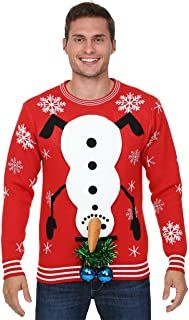 Ugly Christmas Sweater - Ideas that Win all the Ugly Sweater Contests Couples Christmas Sweaters, Diy Ugly Christmas Sweater, Ugly Sweater Party, Christmas Couple, Christmas Shirts, Holiday Sweater, Christmas Ideas, Tacky Christmas Party, Christmas Bingo