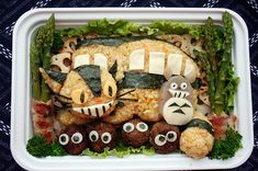 AnnaTheRed's TRULY Amazing Bento Boxes... http://www.wired.com/underwire/2009/02/annathereds-sci/