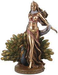 Representing Greek Goddess Hera