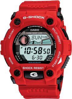 HOT G-SHOCK WATCH!! Casio Men's G7900A-4 G-Shock Rescue Red Digital Sport Watch: Watches: Amazon.com
